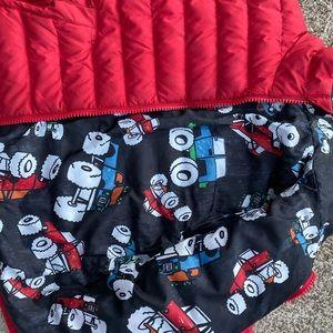 Burton reversible puffy jacket